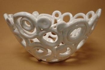 Krasl Feb Clay Coil Dish Small