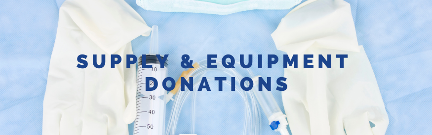 Supply Equipment Donations